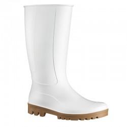 FOODMASTER PVC/Nitril Stiefel, weiß und antistatisch, VE 1 Paar